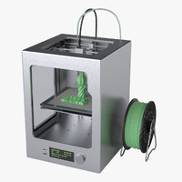 photoreal fdm printer 3d max