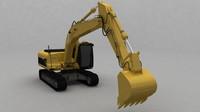 3d generic excavator
