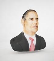 3d model barack obama