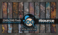 Metal Collection - Vol1 (PBR Textures)