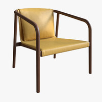 oslo lounge chair 3d model