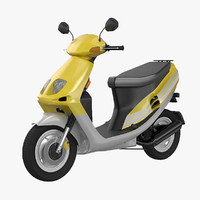 3d model modern scooter