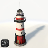 light lighthouse 3d model