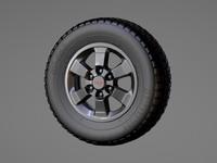 c4d trd wheel