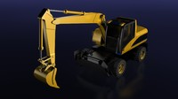 mining excavator max