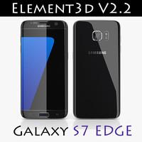 Samsung Galaxy S7 Edge Element3D V2.2