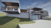 architectural home design 3d model