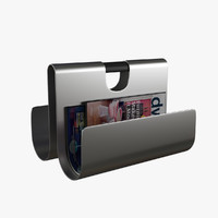 3d model magazine holder