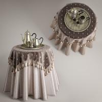 table drape obj