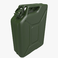 3d jerrycan green