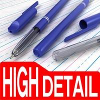 3d model of reynolds pen
