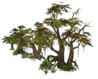 polys tree 3d model