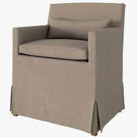 3d belgian slipcover model