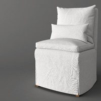 CLOUD DINING FABRIC SIDE CHAIR
