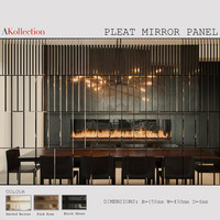 Pleat Mirror Panel By AKollection