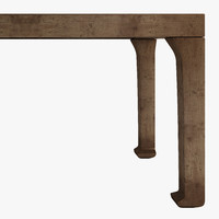 3d model dining table ming dynasty