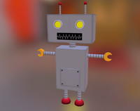 Low Poly Robot 2