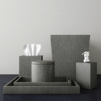 3d shagreen accessories smoke