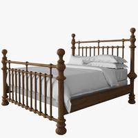 3d bed 19th model