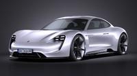3d model 2015 porsche concept
