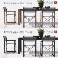 outdoor furniture director s 3d max