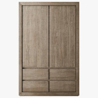 reclaimed oak armoire max
