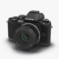 3d model olympus om-d e-m10 mark