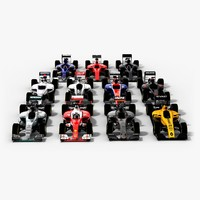 Formula 1 2016 Teams Pack