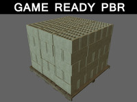 stack bricks 01 3ds
