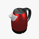 electric kettle 3D models
