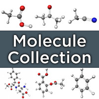 molecules teaching company 3d model