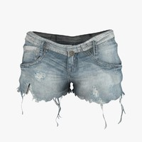 3d model shorts