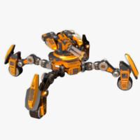 max robot turret