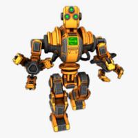 robot loader 3d model