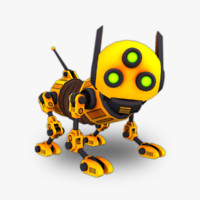 robot dog rigged max