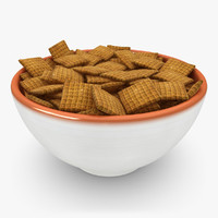 3d realistic cereal 2 model