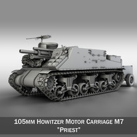 M7 Priest - Howitzer Motor Carriage
