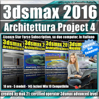 3ds max 2016 Architettura Project 4 Subscription 2 Computer