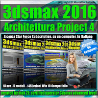 3ds max 2016 Architettura Project 4 Locked Subscription, un Computer.