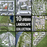 Urban Landscape Collection - 10 Pack
