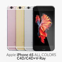 iPhone 6S All Colors C4D