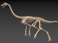 ornithomimus ornithomimid dinosaurs obj