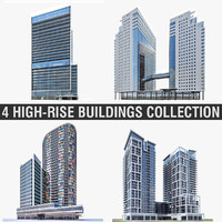 3d model buildings high-rise
