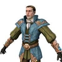 medieval guard 3d max