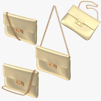 3d purse poses