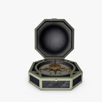 3d model compass jack sparrow