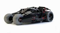3d model bat car