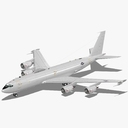 Boeing 707 3D models