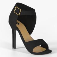 s heels 3d obj