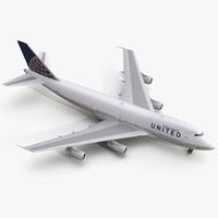 boeing 747 200b united max